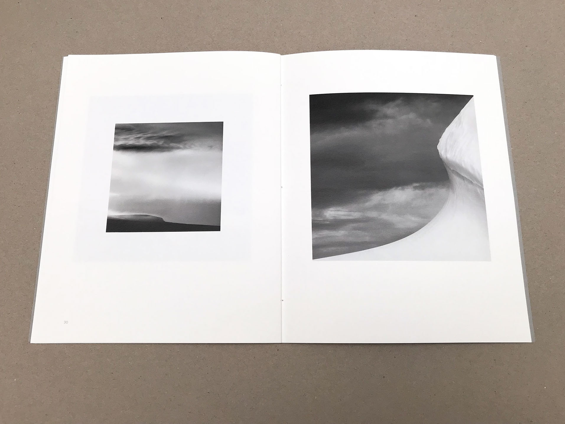 ON ICE - A monochrome photography book by Patrick Kaye